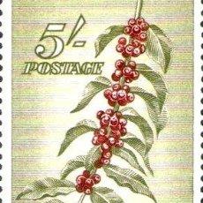 Sellos: PAPUA Y NUEVA GUINEA SELLO NUEVO INDUSTRIA DEL CAFE ANO 1958. Lote 294253513