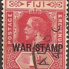 Sellos: FIJI ANO 1916 COLONIA INGLESA 82 DE COLECCION MUY RARA. Lote 294258333