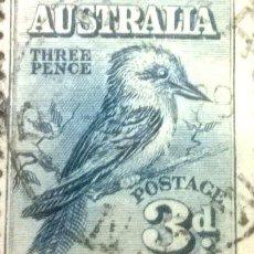 Sellos: C AUSTRALIA AVES YVERT 59 USADO OFERTA YA. Lote 294258548