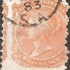 Sellos: AUSTRALIA DEL SUR ESPECIMEN COLONIA BRITANICA ANO 1868. Lote 294261823