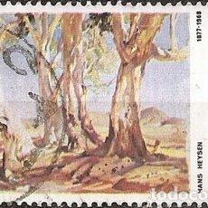 Sellos: AUSTRALIA ANO 1981 YVERT 532 PINTOR HANS HEYSEN. Lote 294265473