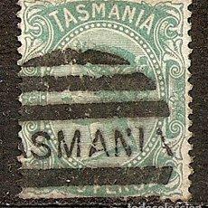 Sellos: TASMANIA COLONIA BRITANICA ANO 1870 MUY ESCASO. Lote 294266103