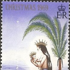 Sellos: GILBERT ELLICE ISLANDS NAVIDAD ANO 1969 MINT. Lote 294268363