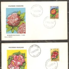 Sellos: POLINESIA FRANCESA.1962.FLORES. FLORA.. Lote 295592938