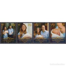 Sellos: ⚡ DISCOUNT FIJI 2013 ROYAL BABY - PRINCE GEORGE OF CAMBRIDGE MNH - ROYALS. Lote 295966333