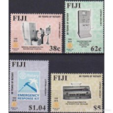 Sellos: ⚡ DISCOUNT FIJI 2016 THE 80TH ANNIVERSARY OF ROTARY IN FIJI MNH - TECHNOLOGY, SCIENCE AND TE. Lote 295966343