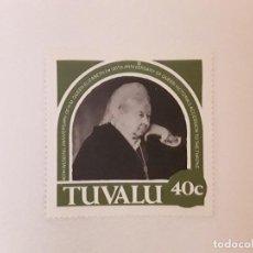 Sellos: TUVALU SELLO USADO. Lote 297184413