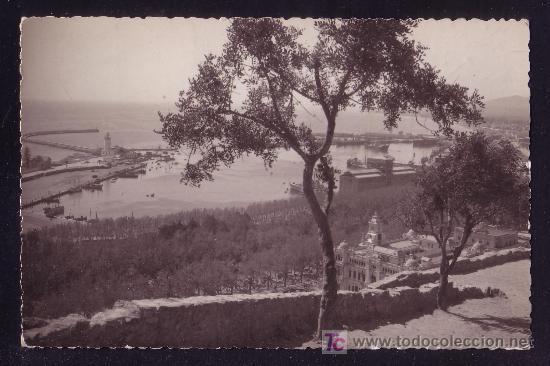Sellos: MÁLAGA. Puerto desde Gibralfaro. - Foto 2 - 25103401