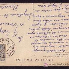 Sellos: ESPAÑA.(CAT.1053).1955.T. P. DE TOSSA DE MAR A BARCELONA. 50 C. MAT. *TOSSA DE MAR/GERONA*. M. BTA. Lote 23851658