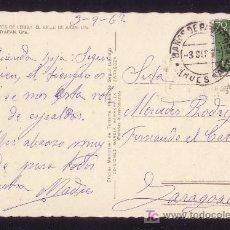 Sellos: ESPAÑA.(CAT.1151).1962.T. P. DE PANTICOSA (HUESCA). 70C. MAT. *BAÑOS DE PANTICOSA/HUESCA*. MAGNÍFICA. Lote 26521203