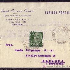 Sellos: ESPAÑA.(CAT.1151).1963.T.P.DE ALGECIRAS A MANRESA.70 C. MAT. *AMB./EXPRES/3/CÓRDOBA-ALGECIRAS*. BTA.. Lote 24424308