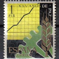 Sellos: ESPAÑA 1964 - 1 P EDIFIL 1582. XXV AÑOS DE PAZ ESPAÑOLA. NUEVO SIN CHARNELA. Lote 8154899