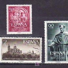 Sellos: .ESPAÑA 1126/8 PERFECTO CON CHARNELA, VII CENTENARIO UNIVERSIDAD DE SALAMANCA, . Lote 151408337