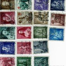 Briefmarken - lote de 4 series (edifil 1071 a 1074; 1103 a 1105; 1129 y 1132 a 1141). - 8830025