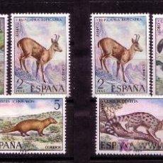 Sellos: DOS SERIES-FAUNA HISPANICA- AÑO 1972- Nº 2102/2106. Lote 13743283