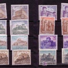 Sellos: CASTILLOS DE ESPAÑA-AÑO 1967- Nº 1809/1816. Lote 13764528