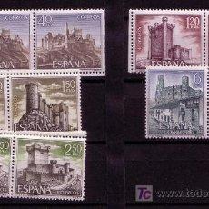 Sellos: CASTILLOS DE ESPAÑA-AÑO 1968- Nº 1880/1884. Lote 13873759