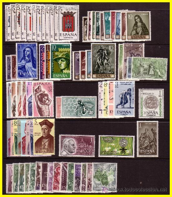 1962 AÑO COMPLETO * * (Sellos - España - II Centenario De 1.950 a 1.975 - Nuevos)