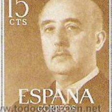 Sellos: 1 SELLO SIN MATASELLAR---ESPAÑA---BASICA FRANCO--. Lote 10640551