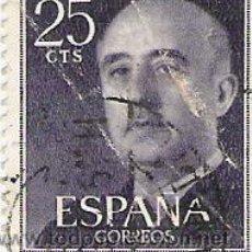 Sellos: 1 SELLO USADO---ESPAÑA---BASICA FRANCO--. Lote 10640574