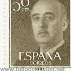 Sellos: 1 SELLO --- ESPAÑA --- BASICA FRANCO . Lote 10640604