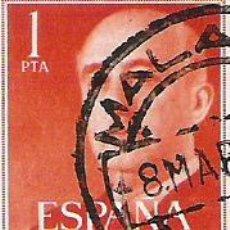 Sellos: 1 SELLO USADO---ESPAÑA---BASICA FRANCO. Lote 10647935