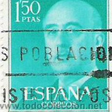 Sellos: 1 SELLO USADO---ESPAÑA---BASICA FRANCO. Lote 10647947