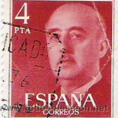 Sellos: 1 SELLO USADO---ESPAÑA---BASICA FRANCO. Lote 10647974