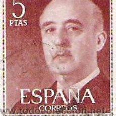 Sellos: 1 SELLO USADO---ESPAÑA---BASICA FRANCO. Lote 10647982