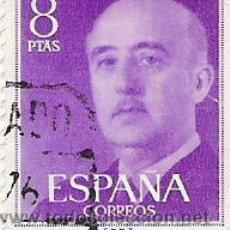 Sellos: 1 SELLO USADO---ESPAÑA---BASICA FRANCO. Lote 10648009
