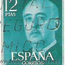 Sellos: 1 SELLO USADO---ESPAÑA---BASICA FRANCO. Lote 10648026
