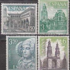 Sellos: EDIFIL Nº 1935/8, SERIE TURISTICA 1969: TERUEL, MURCIA, ALICANTE Y LA RIOJA, NUEVOS . Lote 33805749