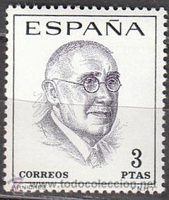 EDIFIL Nº 1759, CARLOS ARNICHES (NACIDO EN ALICANTE) AUTOR DE TEATRO, NUEVO (Sellos - España - II Centenario De 1.950 a 1.975 - Nuevos)