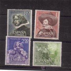 Stamps - 1961. III CENTENARIO MUERTE DE VELAZQUEZ. SERIE Nº 1340/3 - 13781109