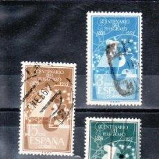 Sellos: ESPAÑA 1180/2 USADA, I CENTENARIO DEL TELEGRAFOS,. Lote 14241541