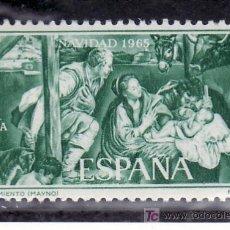 Sellos: ESPAÑA 1692 SIN CHARNELA, NAVIDAD, NACIMIENTO (MAYNO). Lote 195105893