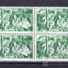 Sellos: ESPAÑA 1692 EN B4 SIN CHARNELA, NAVIDAD, NACIMIENTO (MAYNO). Lote 195105835