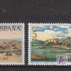 Sellos: ESPAÑA 1972 - HISPANIDAD. PUERTO RICO - COMPLETA - EDIFIL 2107 / 10 ***. Lote 14614526