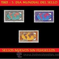 Sellos: LOTE - 1963 S. CPTA. DIA MUNDIAL DEL SELLO - (UNIFICO ENVIOS AHORRA GASTOS COMPRANDO MAS SELLOS). Lote 15729327