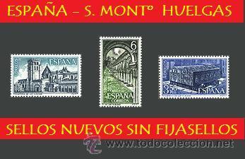 ESPAÑA LOTE SELLOS - 1969 S. COMPTA MONTº HUELGAS (UNIFICO ENVIOS AHORRA GASTOS COMPRANDO MAS SELLO) (Sellos - España - II Centenario De 1.950 a 1.975 - Nuevos)
