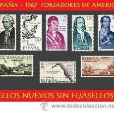 Sellos: ESPAÑA LOTE SELLOS - 1967 FORJADORES DE AMERICA (UNIFICO ENVIOS AHORRA GASTOS COMPRANDO MAS SELLO). Lote 16015058