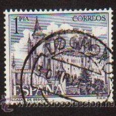 Sellos: SELLO USADO ESPAÑA AÑO 1964 SELLO SERIE TURISTICA PAISAJES Y MONUMENTOS ALCAZAR DE SEGOVIA . Lote 17642647