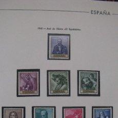 Sellos: 1963 JOSE DE RIBERA EL ESPAÑOLETO. EDIFIL 1498/507. Lote 26416078