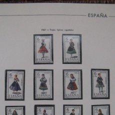 Sellos: 1967 TRAJES TIPICOS ESPAÑOLES. EDIFIL 1767/78 . Lote 17962717