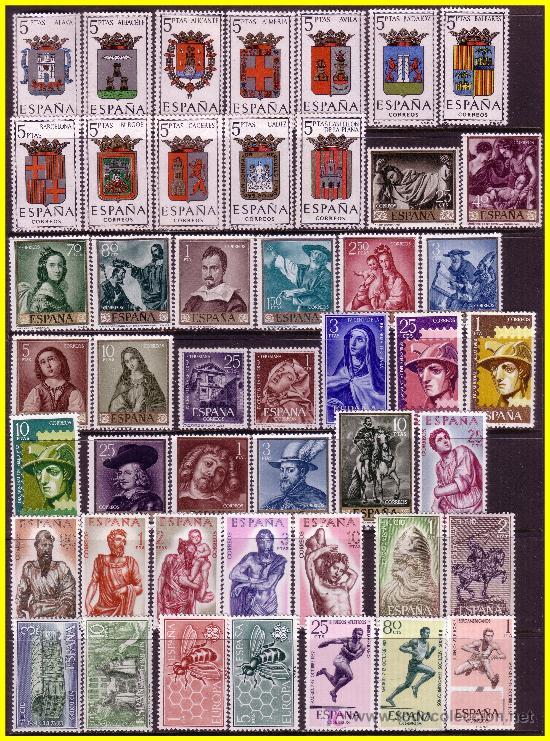 1962 AÑO COMPLETO, EDIFIL Nº 1406 A 1480 * * (Sellos - España - II Centenario De 1.950 a 1.975 - Nuevos)