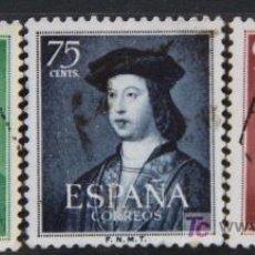 Sellos: ESPAÑA EDIFIL 1106-08 FERNANDO EL CATÓLICO USADOS ES102. Lote 19863972