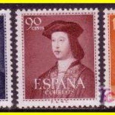 Sellos: 1952 FERNANDO E CATÓLICO, EDIFIL Nº 1106 A 1110 * *. Lote 20019516