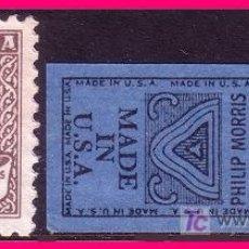 Sellos: TABACALERA Y PHILIPS MORRIS, IMPUESTO SOBRE TABACOS (*). Lote 20754108