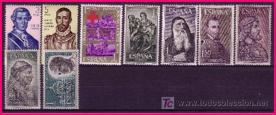 Sellos: 1963 Año Completo EDIFIL nº 1481 a 1540 * * - Foto 2 - 20917690
