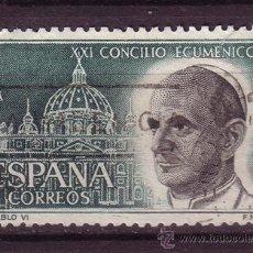 Sellos: ESPAÑA EDIFIL 1540 - AÑO 1963 - CONCILIO ECUMÉNICO VATICANO II. Lote 24539972